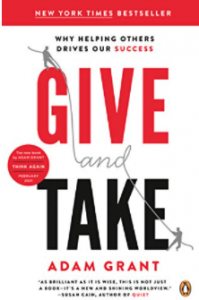 give and take - best business development books